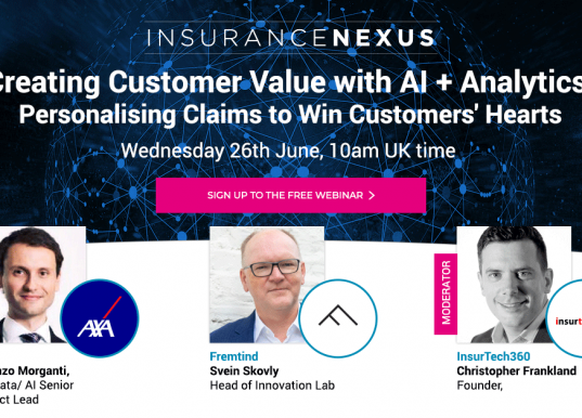 AI and analytics changing Insurance Claims Forever