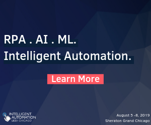 Intelligent Automation Week Chicago Side Banner