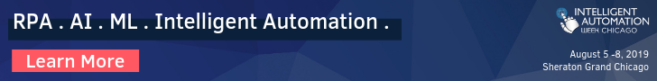 Intelligent Automation Week Chicago Top Banner