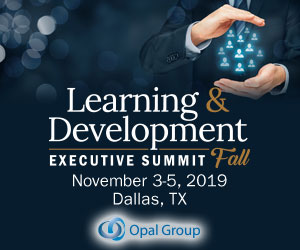 Learning Development Executive Summit Fall 2019 Side