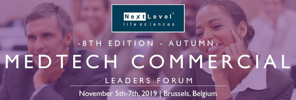 Medtech Commercial Leaders Forum 2019