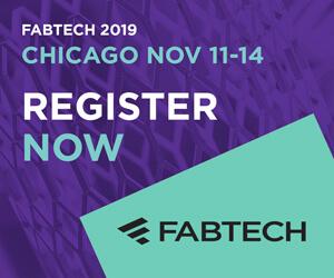 FABTECH 2019 Side Banner