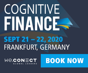 Cognitive Finance 2020 Side Banner