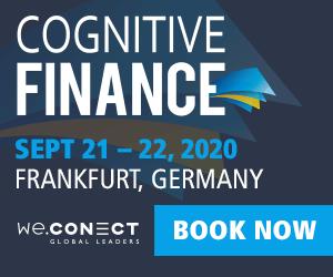 Cognitive Finance 2020 Side Banner