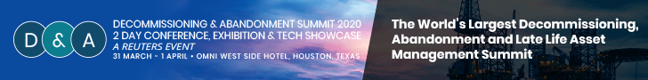 Decommissioning & Abandonment Summit 2020 Top Banner
