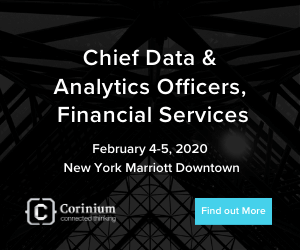 Chief Data Analytics Officer Financial Services Side Banner