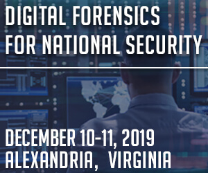 Digital Forensics for National Security Side Banner