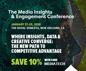 Media Insights & Engagement Conference Side Banner