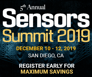Sensors Summit 2019 Side Banner