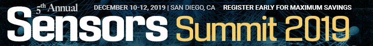 Sensors Summit 2019 Top Banner