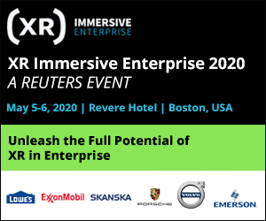 XR Immersive Enterprise 2020 Side Banner