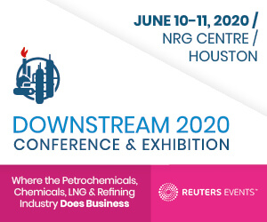 Downstream 2020 Exhibition and Conference Side Banner