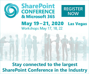 SharePoint Conference Microsoft 365 Side Banner