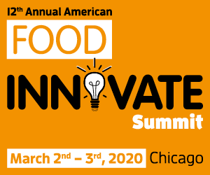 American Food Innovate Summit Side Banner