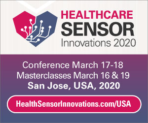 Healthcare Sensor Innovations 2020 Side Banner