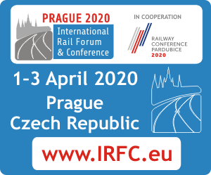 International Railway Forum & Conference PRAGUE 2020 Side Banner