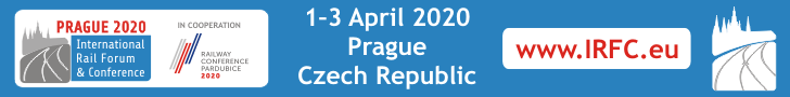 International Railway Forum & Conference PRAGUE 2020 Top Banner