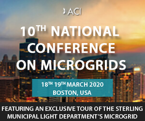 10th National Conference on Microgrids Side Banner