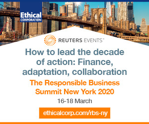 Responsible Business Summit New York Side Banner