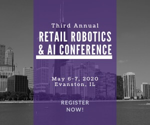 2020 Retail Robotics AI Conference Side Banner