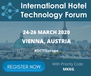 International Hotel Technology Forum 2020 Side Banner