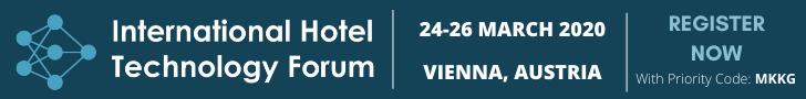International Hotel Technology Forum 2020 Top Banner