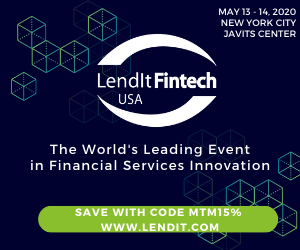 LendIt Fintech USA 2020 Side Banner