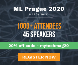 Machine Learning Prague 2020 Side Banner