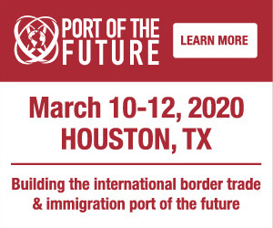 Port Of The Future Conference Side Banner