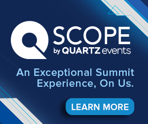 SCOPE by QUARTZ Events Side Banner