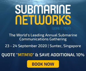 Submarine Networks World 2020 Side Banner