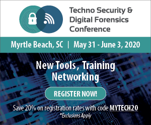 Techno Security & Digital Forensics Conference SC Side Banner