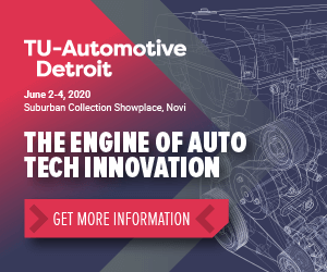 TU-Automotive Detroit Side Banner