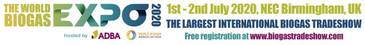 World BioGas Expo 2020 Top Banner
