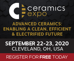 Ceramics Expo 2020 Side Banner