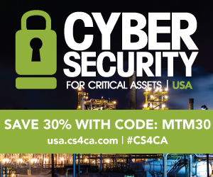Cyber Security for Critical Assets USA Summit Side Banner