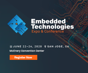Embedded Technologies Expo 2020 Side Banner