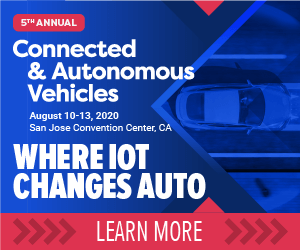 Connected and Autonomous Vehicles Side Banner