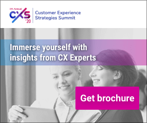 Customer Experience Strategies Summit 2020 Side Banner