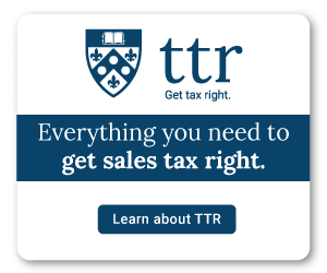 TTR Sales Tax Research Side Banner