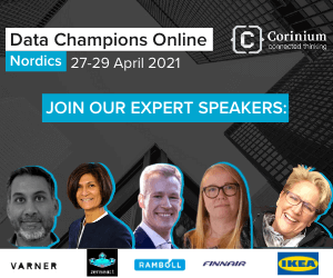 Data Champions Online Nordics Side Banner