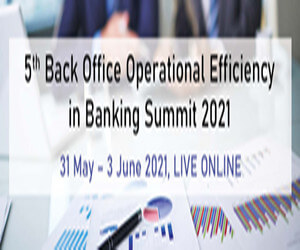5th Back Office Operational Efficiency in Banking Summit 2021 Side Banner