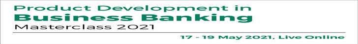 Product Development in Business Banking 2021 Top Banner