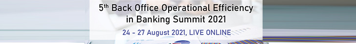 5th Back Office Operational Efficiency in Banking Summit 2021 Top Banner