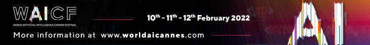 World Artificial Intelligence Cannes Festival - Top Banner