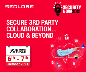 Seclore Security Now 2021 Side Banner