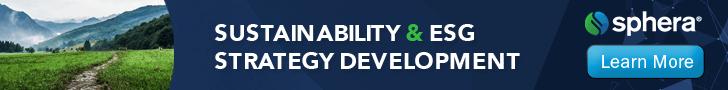 Sustainability & ESG Strategy Development Top Banner