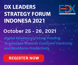 DX Leaders Strategy Forum Indonesia 2021 Side Banner