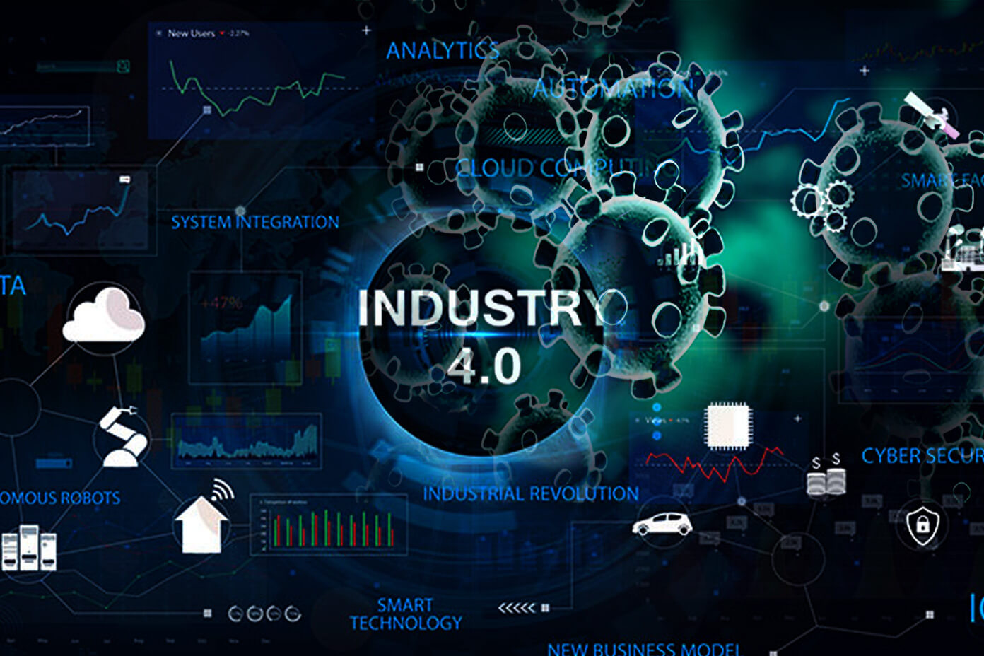 How Industry 4.0 Technologies helped Businesses Stay Afloat during the COVID-19 Crisis