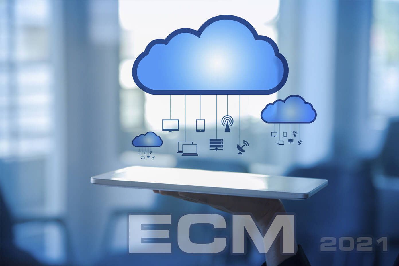 Why should organizations consider switching to cloud-based ECM?
